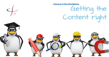 Disciplinary Literacy: Getting the Content Area Right