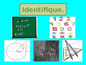 Disciplinas (School Subjects in Portuguese) PowerPoint