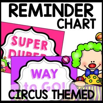 Discipline Chart (Circus Themed)