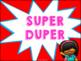 Discipline Chart (Superhero Themed)