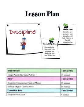 Discipline, Guidance, Punishment & Self-Discipline Lesson