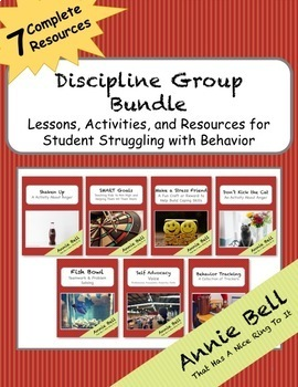 7 Group Activities - Improve Discipline! Bundle