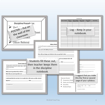 Classroom Management Plan for High School and Middle School