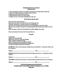 Discipline Plan for ELL Classroom