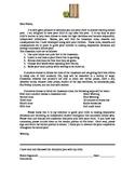 Discipline Plan letter to parent