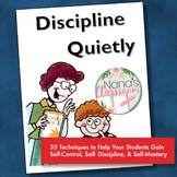 Discipline Quietly