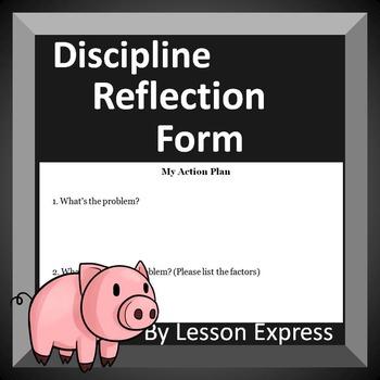 Discipline Reflection Form