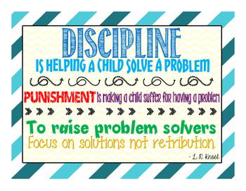 Discipline Signs