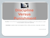 Discipline Versus Punishment Booklet