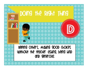 Discipline Without Stress Behavior Level Posters