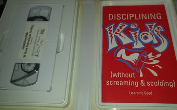 Disciplining Kids without Screaming & Scolding VHS & Guide
