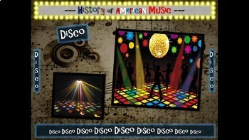 Disco: A comprehensive & engaging Music History PPT (links, handouts & more)