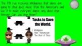 Disco Aliens Escape Room Challenge- Digital and Print Version