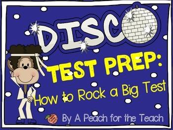 Disco Monkey Test Prep: How to Rock a Big Test {Standardized Test Taking Skills}