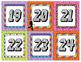 Disco Theme Number Set