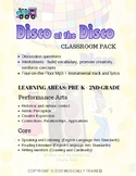 Disco at the Disco PDF book and lesson bundle