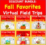Fall and Autumn Virtual Field Trip Discount Bundle