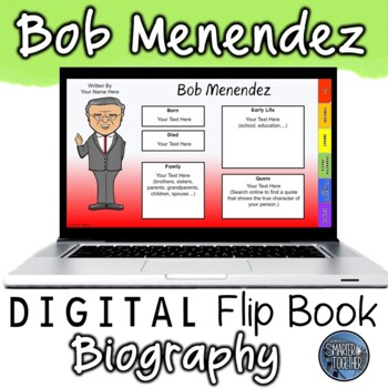 Bob Menendez Digital Biography Template