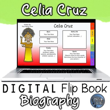 Celia Cruz Digital Biography Template