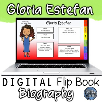 Gloria Estefan Digital Biography Template