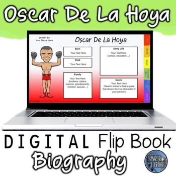 Oscar De La Hoya Digital Biography Template