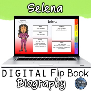 Selena Digital Biography Template