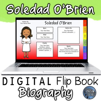 Soledad O'Brien Digital Biography Template