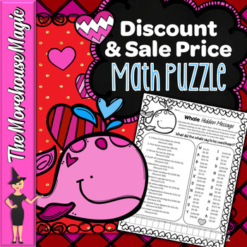 Discount Percent and Sales Price: A Valentine's Puzzle