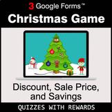 Discount, Sale Price, Savings | Christmas Decoration Game