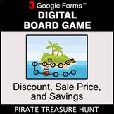 Discount, Sale Price, Savings - Digital Board Game | Google Forms