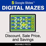 Discount, Sale Price, Savings | Digital Mazes Distance Lea