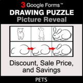 Discount, Sale Price, Savings - Drawing Puzzle | Google Forms