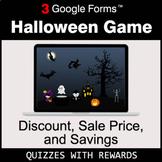 Discount, Sale Price, Savings | Halloween Decoration Game