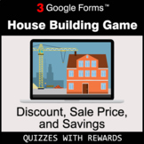 Discount, Sale Price, Savings | House Building Game | Goog