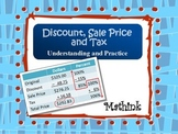 Discount, Sale Price, and Tax Understanding and Practice