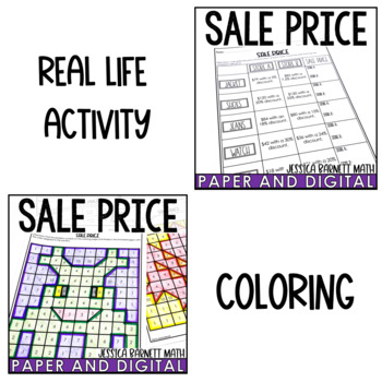 Discount and Markdown Activity Pack