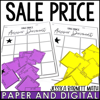Discount and Markdown Puzzle Activity