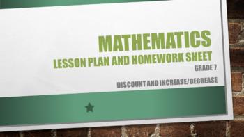 Grade 7 Discount and increase-decrease