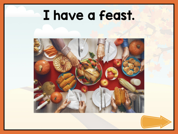 No Print Thanksgiving Vocab Builder