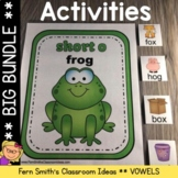 Vowel Sorting Center Games, Printables and More Bundle