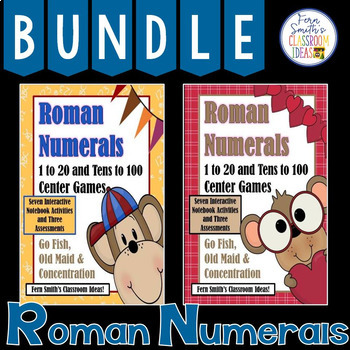 Roman Numerals Three In One Center Games Bundle