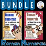 Roman Numerals Math Center - Three In One Center Games Bundle