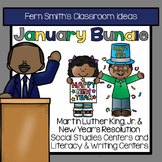January Writing and Social Studies Centers
