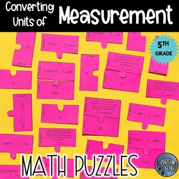Converting Units of Measure Puzzle Activity
