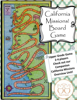 Discounted Game Board Bundle:Ca.Native Americans, Missions, Gold Rush, Trans. RR