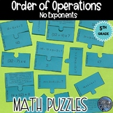 Order of Operations Puzzle Activity