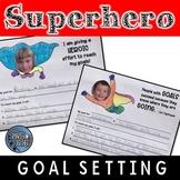 Superhero Goal Setting Template