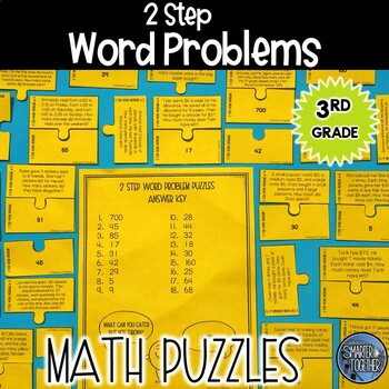 2 Step Word Problems Puzzle Activity