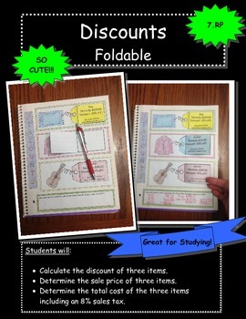 Discounts Foldable