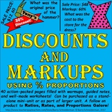 Discounts and Markups (Sale Price, Original Price, Markup and Discount Percent)